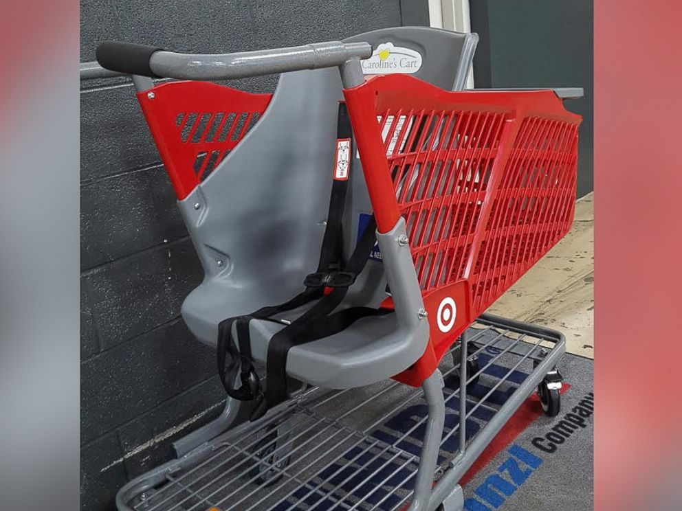 PHOTO: Carolines Cart will now be available in nearly all Target stores to benefit the disabled.