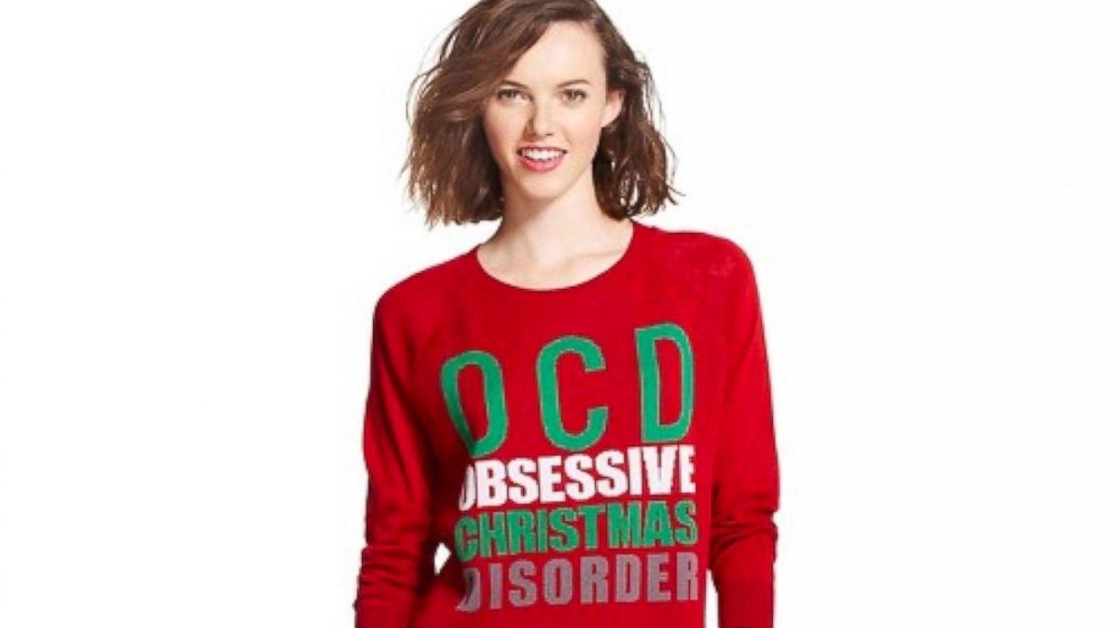 Bullseye Placed on Target for \'Obsessive Christmas Disorder\' Sweater ...