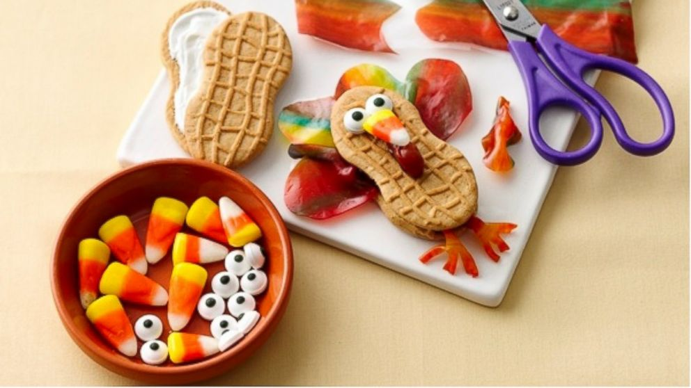 Thanksgiving Craft Idea For Kids Make Fruity Feather Turkeys Abc News