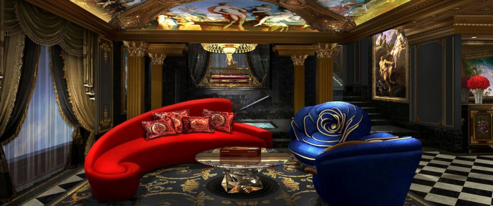 PHOTO: The living room inside The 13 Hotel in Macau, opening this summer.