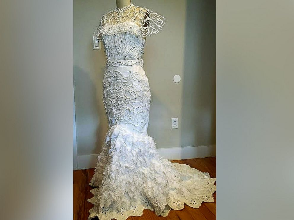 PHOTO: The ten finalists for the 12th Annual Toilet Paper Wedding Dress Contest Sponsored by Charmin have been chosen.