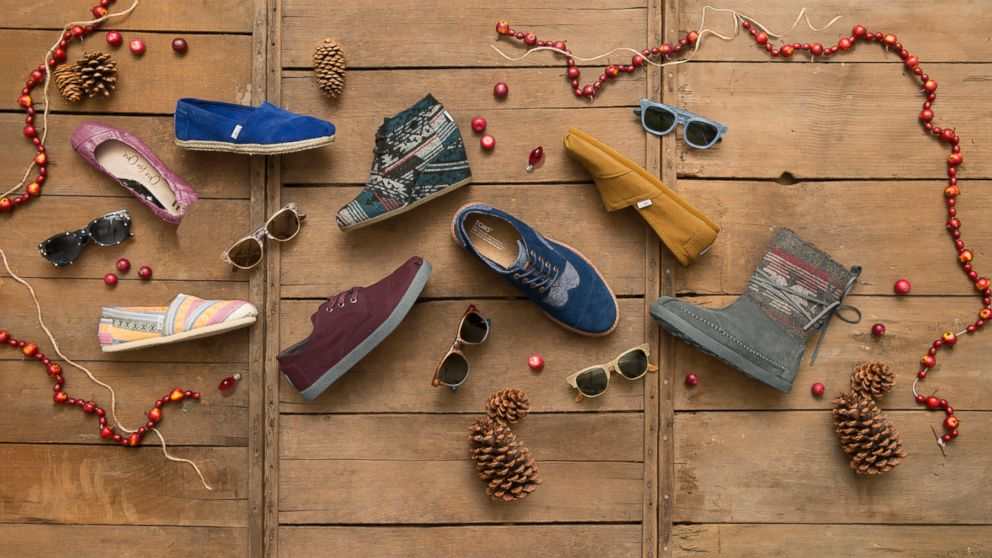 TOMS shoes and eyewear has launched a new online Marketplace, featuring 200 socially conscious products from 30 different companies.