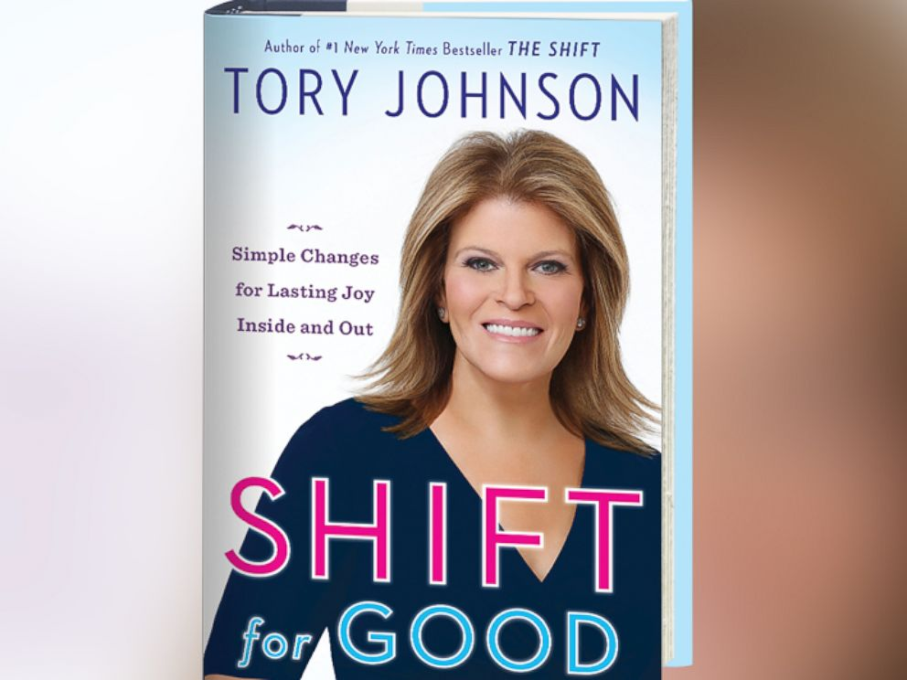 PHOTO: Tory Johnson shares her journey of self-discovery after losing over 62 pounds, in her new book, Shift for Good.