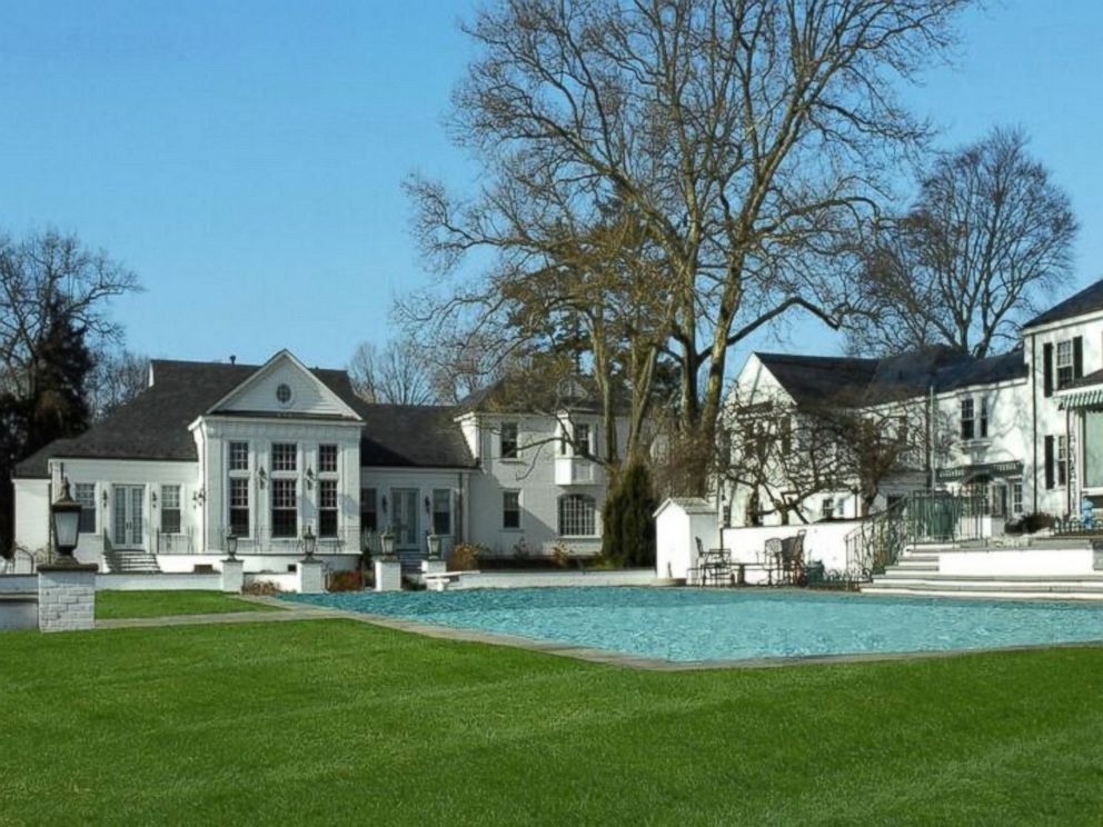 PHOTO: Although Donald Trumps former Connecticut mansion is located near beaches, a large outdoor swimming pool will satisfy aquatic-minded homeowners.