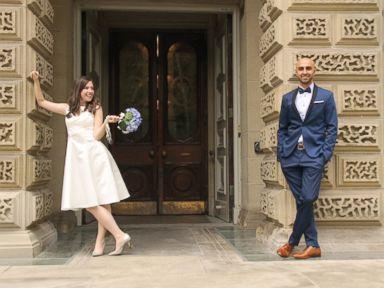 Toronto Couple Cancels Big Wedding To Help Sponsor Syrian Refugee Family Instead Abc News