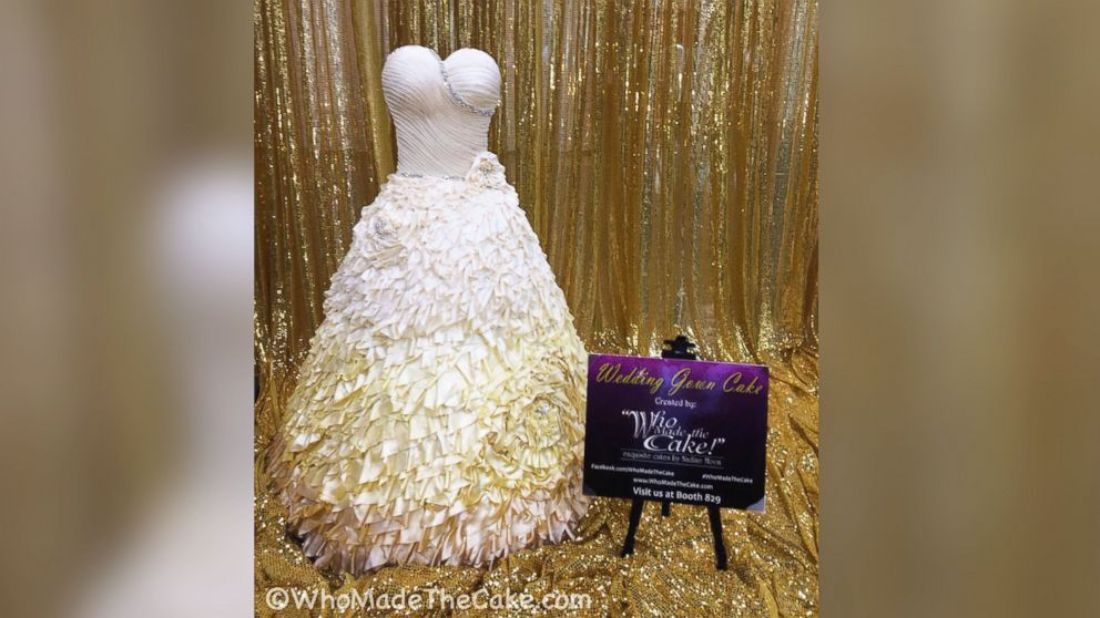 It\'s a Dress! It\'s a Cake! It\'s a Wedding Dress Cake - ABC News