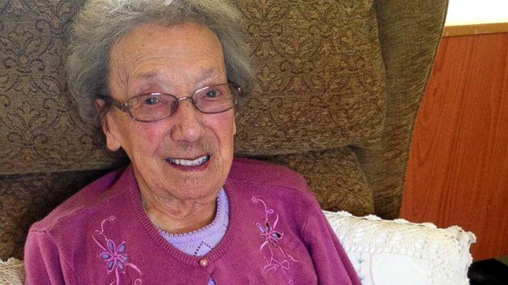Winnie Blagden Turned 100 Years Old On May 31st