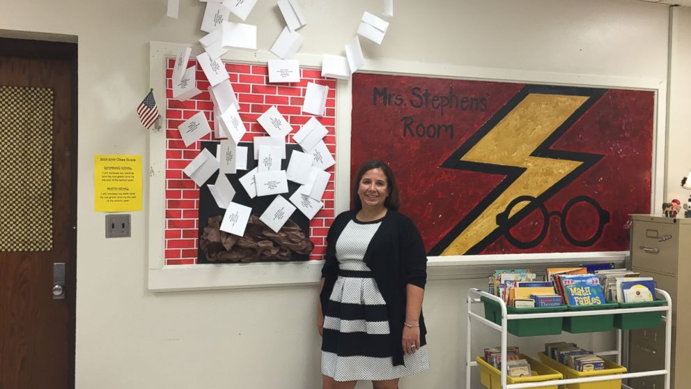 Teacher S Harry Potter Themed Classroom Gets Kids Off To A
