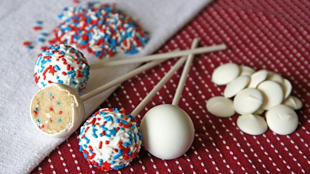 PHOTO: confetti cake pop, Kris Galicia Brown