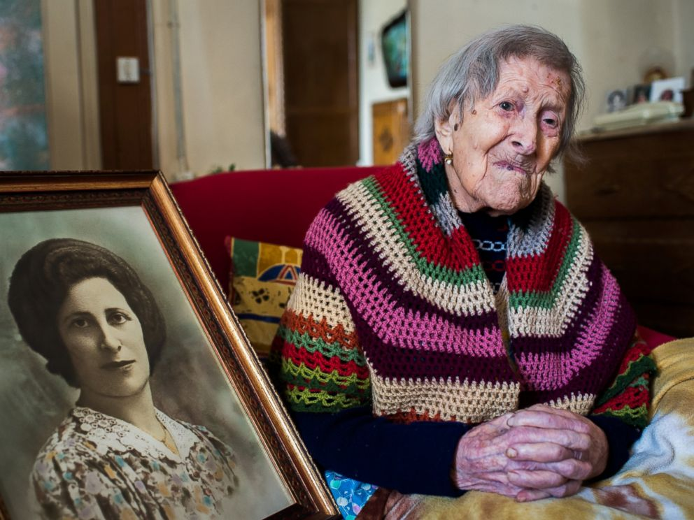 PHOTO: Emma Morano is an Italian supercentenarian who is, at the age of 116 years, 169 days, the worlds oldest living person, and the last verified living person to have been born in the 1800s.