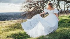 PHOTO: Future bride Shelby Sander honored her late mother with a photo shoot in El Dorado Hills, California.