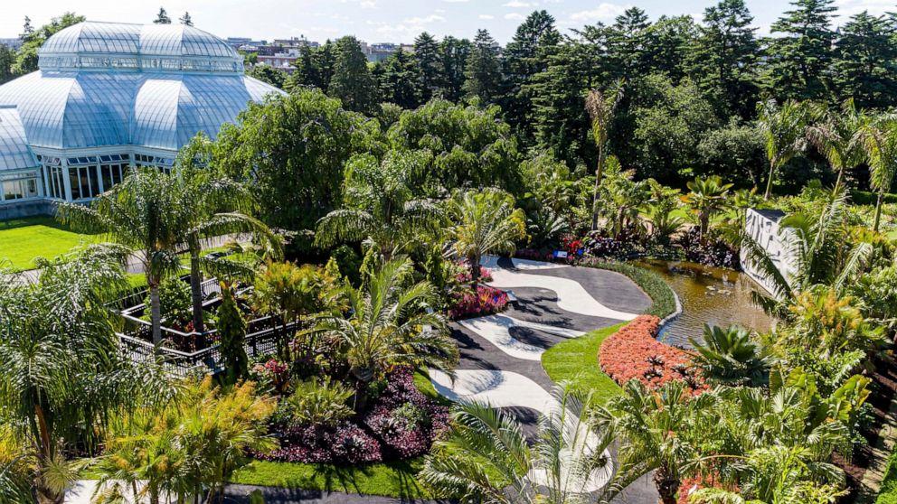 Huge Ny Show Honors Brazilian Modern Landscape Architect Abc News