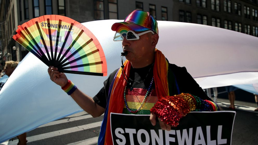 Nyc Pride Parade Is One Of Largest In Movements History Abc News