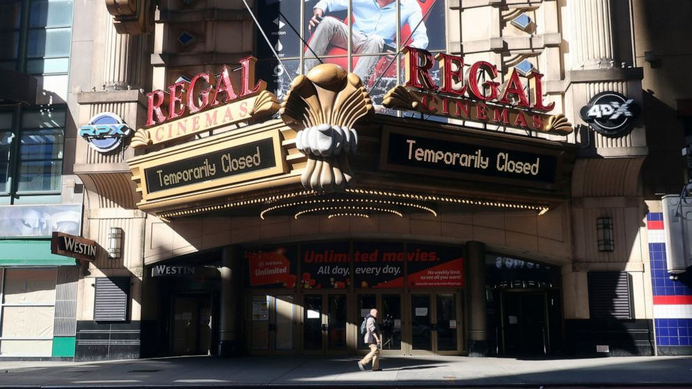 Cineworld CEO on re-opening Regal theaters in...