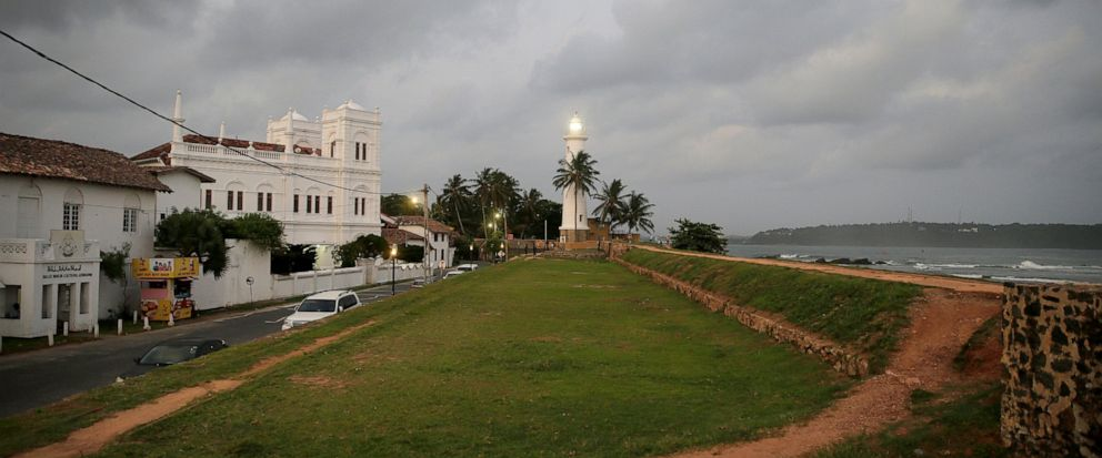 In this Friday, May 10, 2019, photo, the 17th century built Dutch fort, which was a popular tourist site, stands empty in Galle, Sri Lanka. Sri Lanka was the Lonely Planet guide's top travel destination for 2019, but since the Easter Sunday attacks o