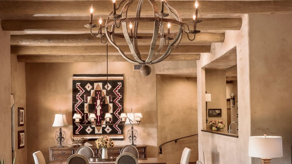 This Photo Provided By Linda Robinson Design Associates Shows The Living Dining Room In