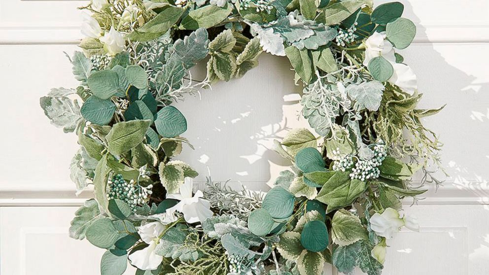 Welcome The End Of Winter With A New Spring Wreath Abc News