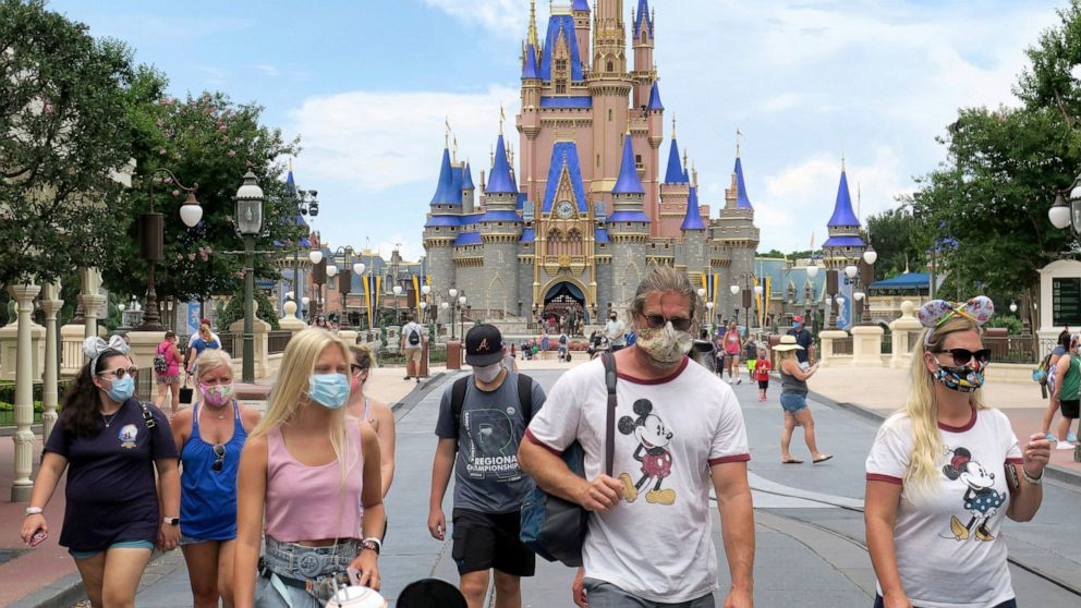 Disney to lay off 28,000 at its parks in California, Florida thumbnail