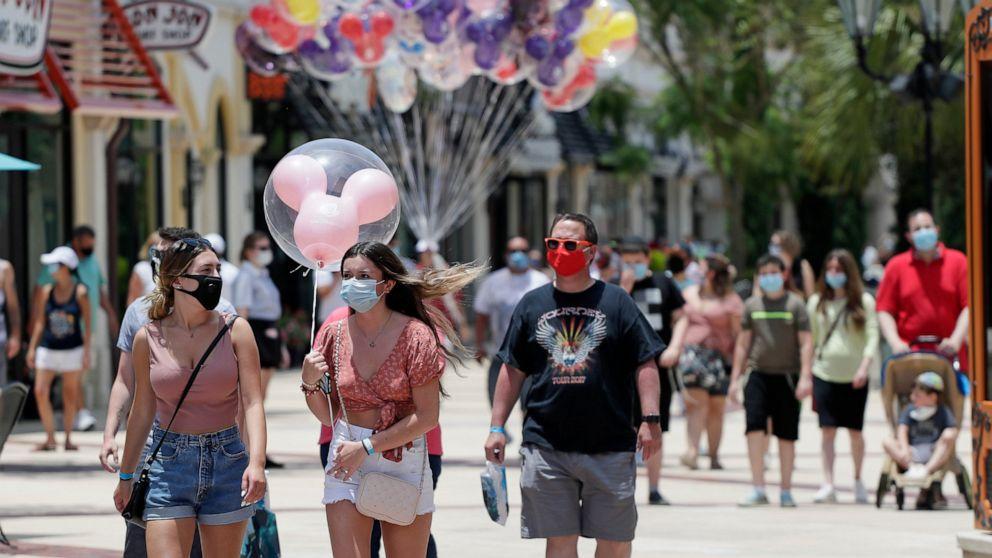 Disney World to reopen as coronavirus circumstances surge in Florida thumbnail