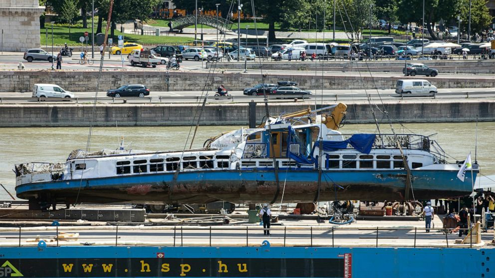 Captain of cruise ship in Hungary crash released on bail