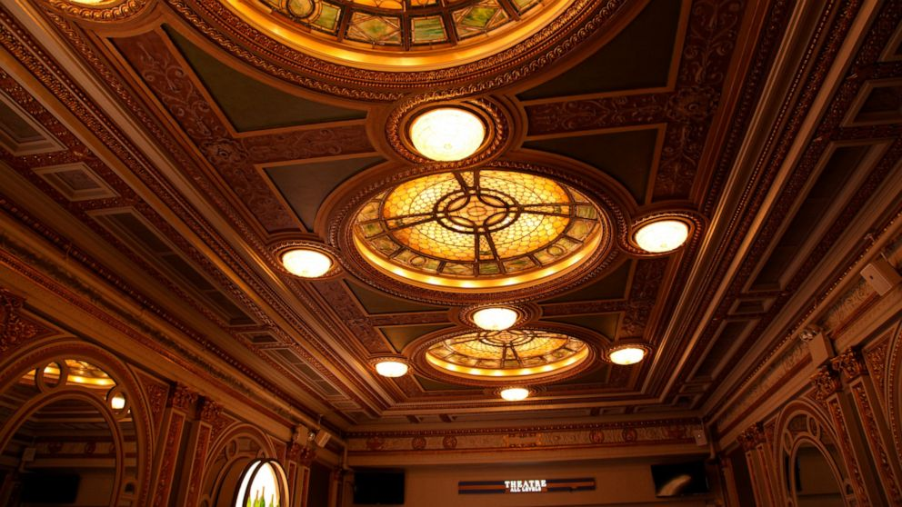 A tour inside a Broadway theater is the place to geek out