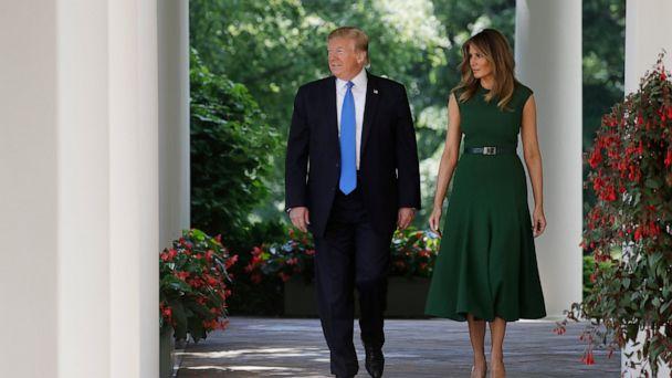 Melania Trump to celebrate 1st year of 'Be Best' initiative