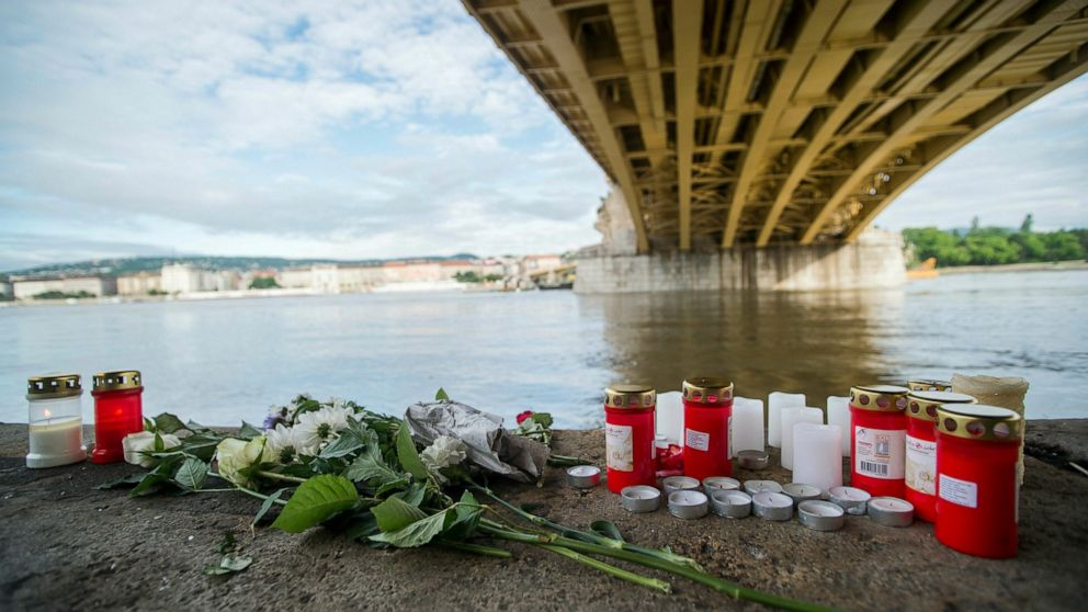 Hungary: Captain in Danube boat crash back in police custody