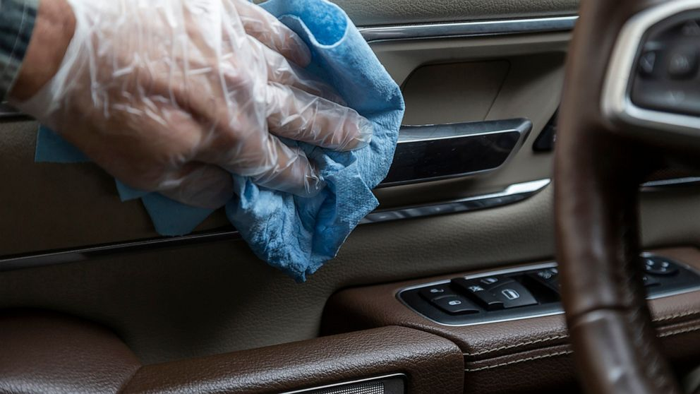 Keep your car clean to reduce risk from coronavirus - ABC News