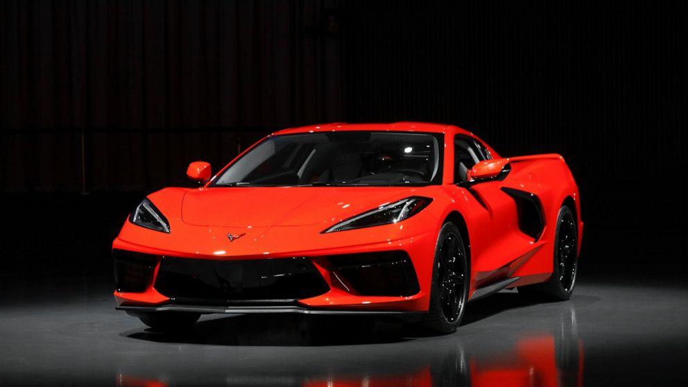 The Latest: New mid-engine Corvette starts under $60,000