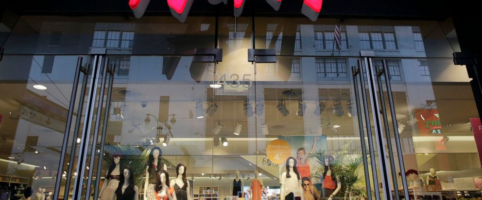 FILE - This May 31, 2013 file photo shows the exterior of an H&M store in New York. Low-cost fashion retailer Hennes & Mauritz AB said Friday Sept. 6, 2019, it is suspending leather purchases from Brazil in response to the Amazon fires. (AP Photo/Mar