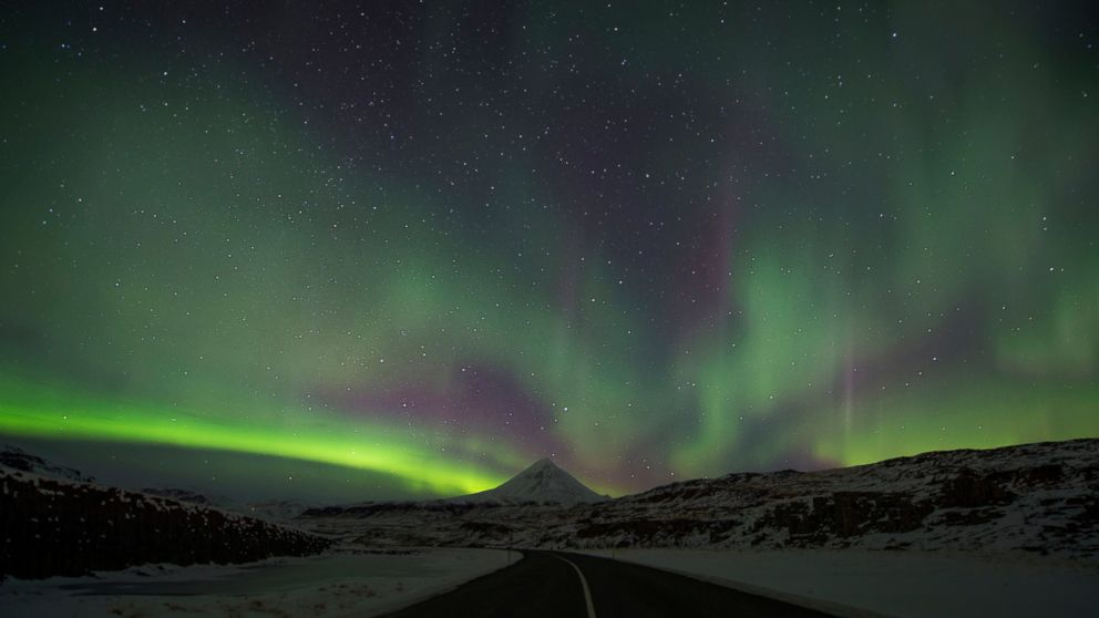 Time Lapse Video Shows Northern Lights Dazzling The Night Sky