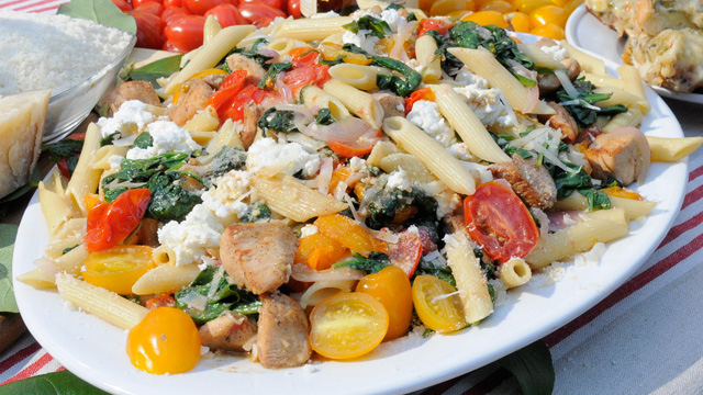 Chicken Florentine Pasta Recipe By The Pioneer Woman Ree Drummond