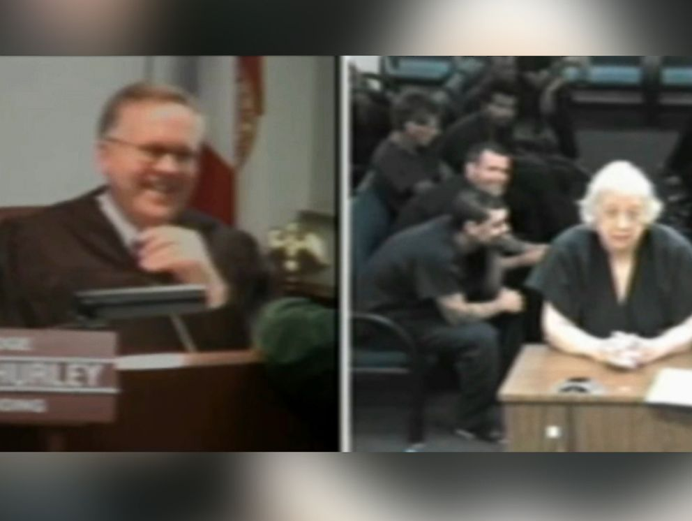 PHOTO: Defendant Doloris Sheinis, 80, had a Broward County courtroom in stitches on Feb. 12, 2015.