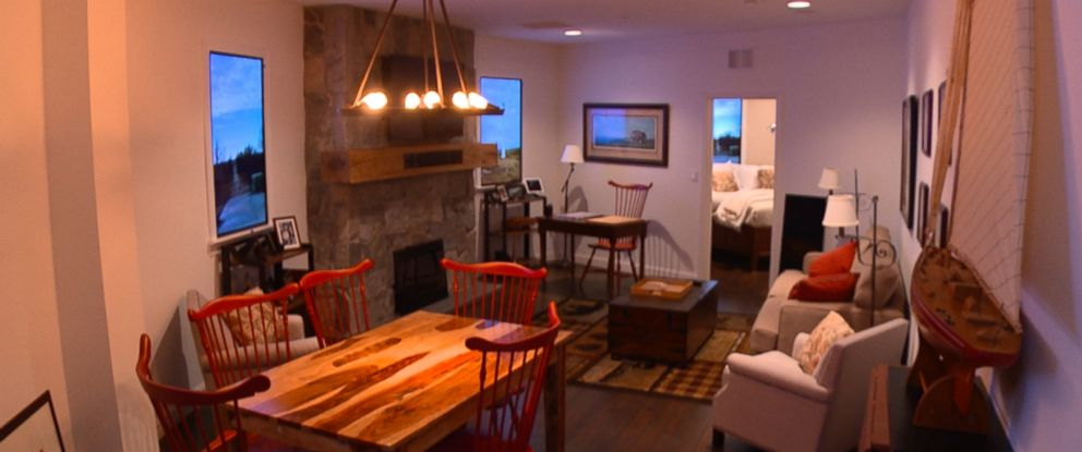 ABCs David Wright was given a chance to go inside the Luxury Survival Condos.