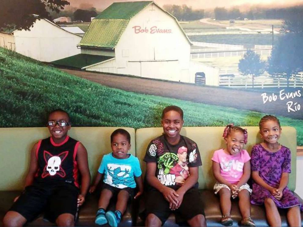 PHOTO: Biological siblings William, 12, Truth, 9, Marianna, 6, Keyora, 3, and KJ, 2, pose in an undated photo.