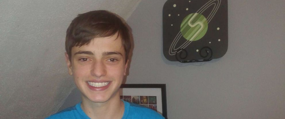 PHOTO: Hunter Allis, 14, of East Hampton, Conn., built his own video game that is now sold in the Apple App Store.
