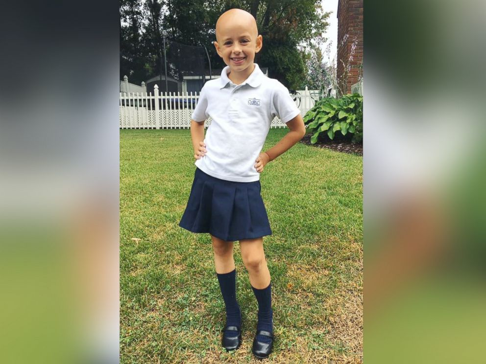 PHOTO:6-year-old Riley Sylvaria was diagnosed with alopecia when she was 15 months old.