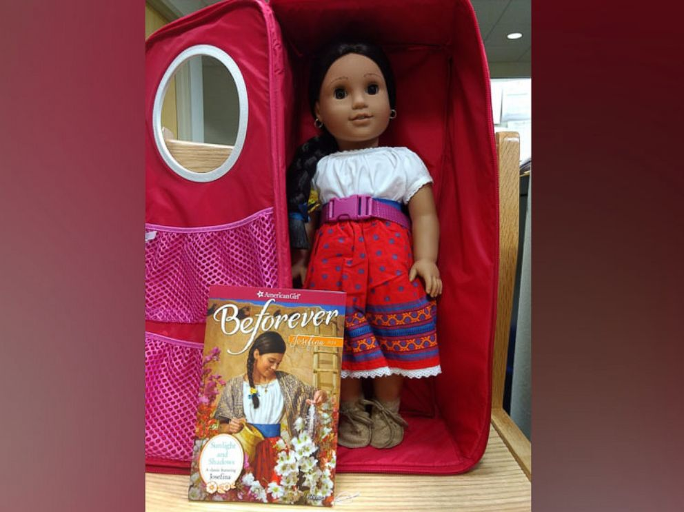 PHOTO: American Girl dolls are available for three-week loans at Yonkers Public Library.