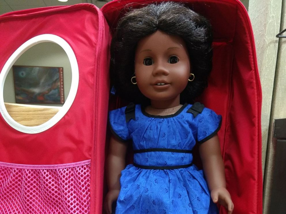 photo an american girl doll available to be checked out at a yonkers public library - Ameeican Girl Doll