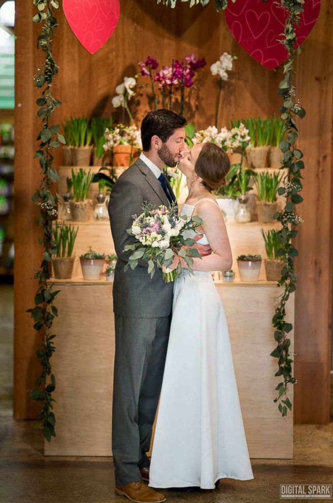 Photo Ross And Jacqueline Aronson Were Married At Whole Foods Market In Chapel Hill
