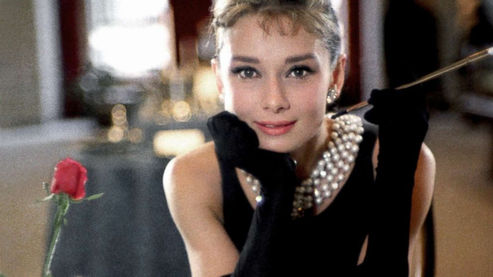 Actress Audrey Hepburn poses for a publicity still for the Paramount Pictures film 'Breakfast at Tiffany's' in 1961, in New York City.