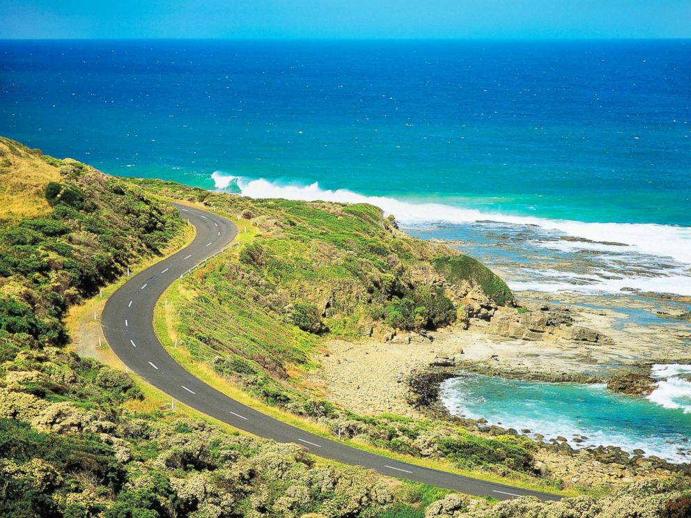 PHOTO: This undated photo captures a scenic view of Great Ocean Road near Apollo Bay, Victoria, Australia.
