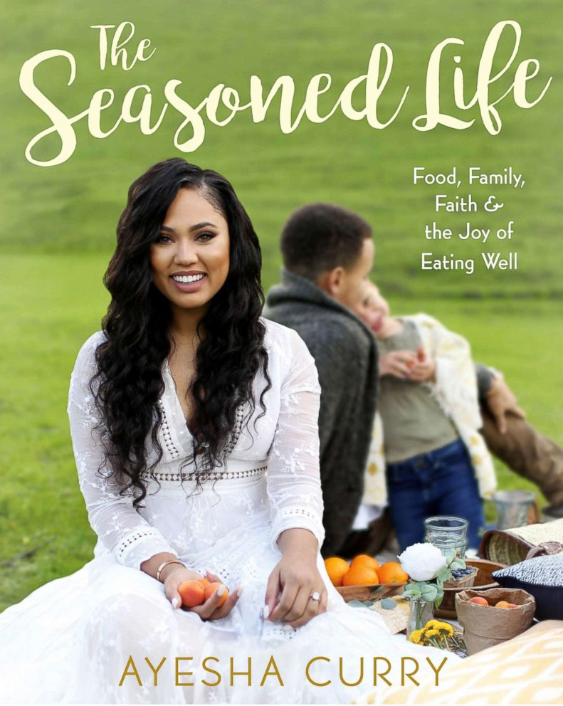 PHOTO: Ayesha Curry, a mother of two and wife to NBA player Stephen Curry, is the author of The Seasoned Life cookbook. (Copyright 2016 by Ayesha Curry.)
