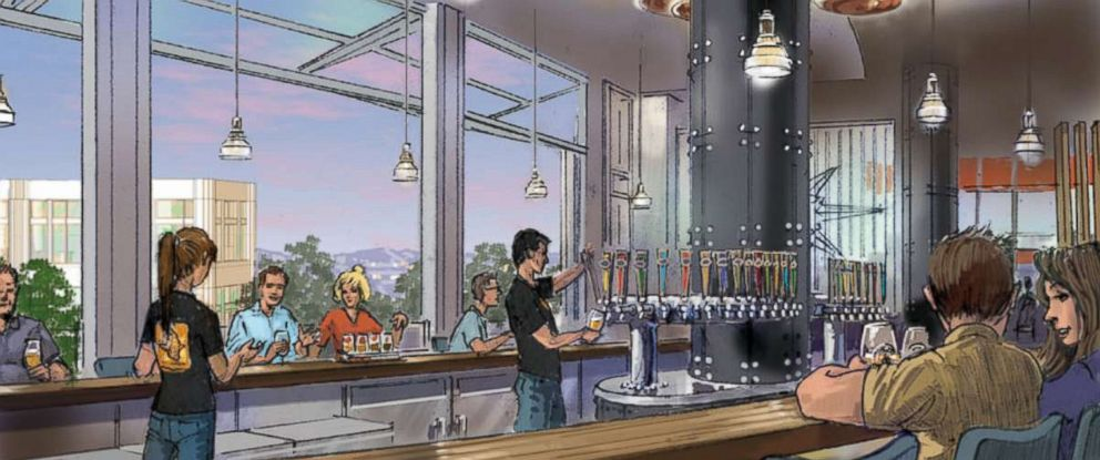 PHOTO: Ballast Point brewery will be added to Downtown Disney in Anaheim, California later this year.
