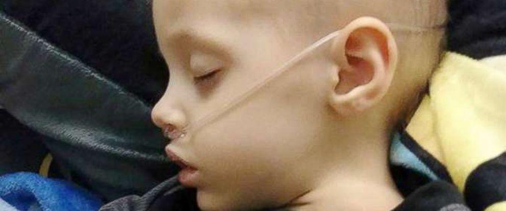 PHOTO: Benjamin Graham celebrated his 4th birthday at Childrens Hospital of Philadelphia.