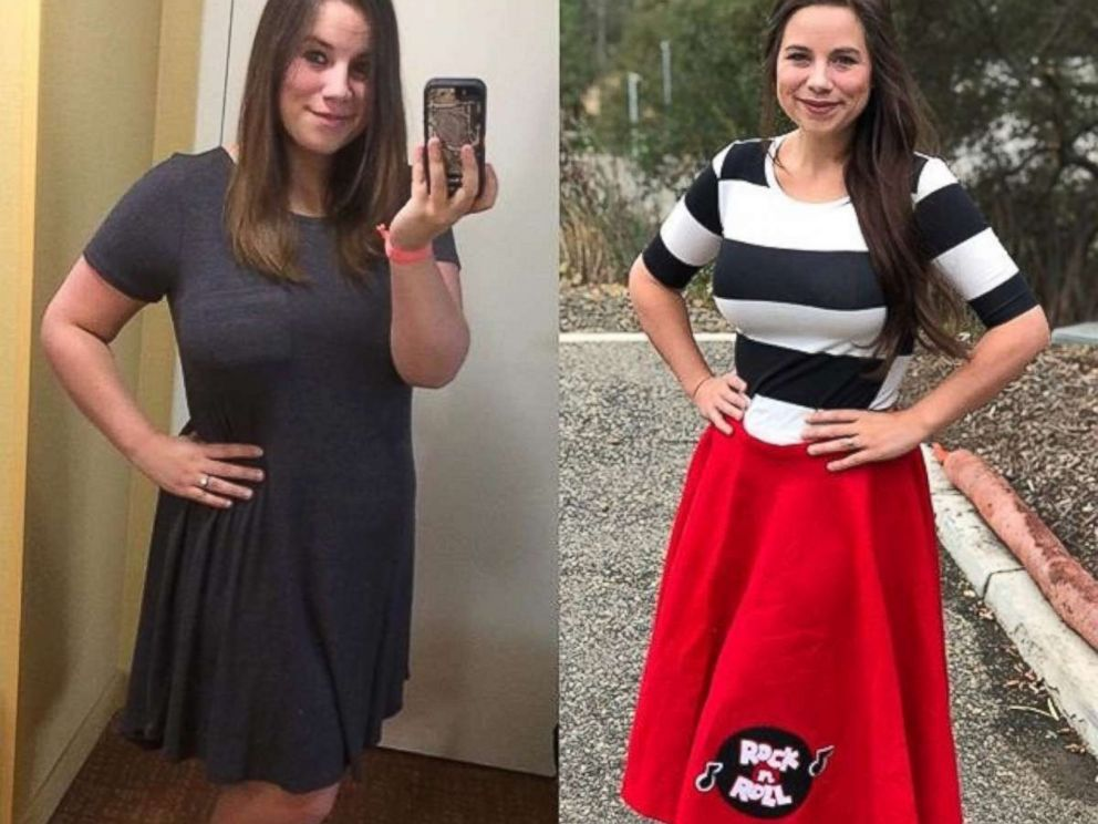 PHOTO: Brittany Williams, 27, lost around 70 pounds in less than one year.