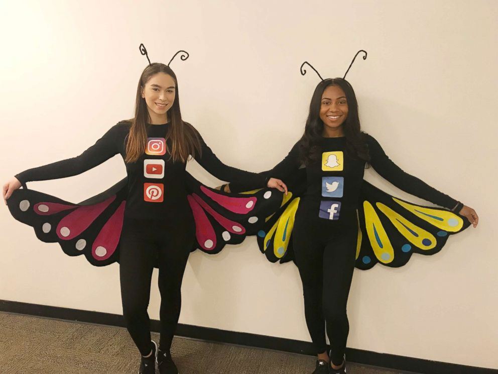 Compound Word Halloween Costumes & PHOTO Social Butterfly
