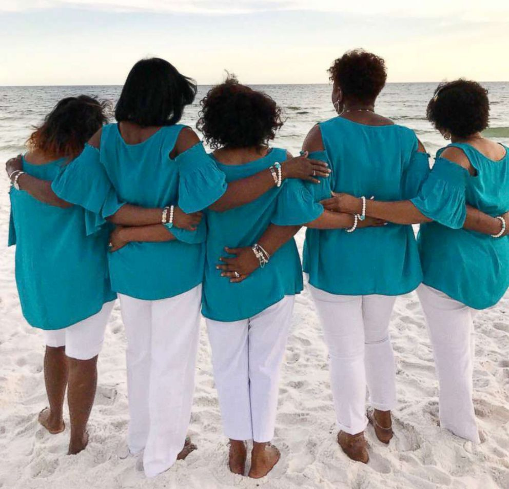 PHOTO: The Sensational Six remember their late friend Denise Williamson on June 4, 2018 in Seacrest, Fla.