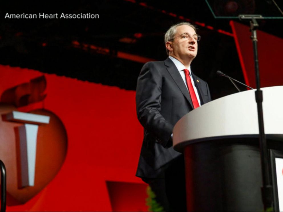 PHOTO: President of the American Heart Association Dr. John Warner at an undated event.