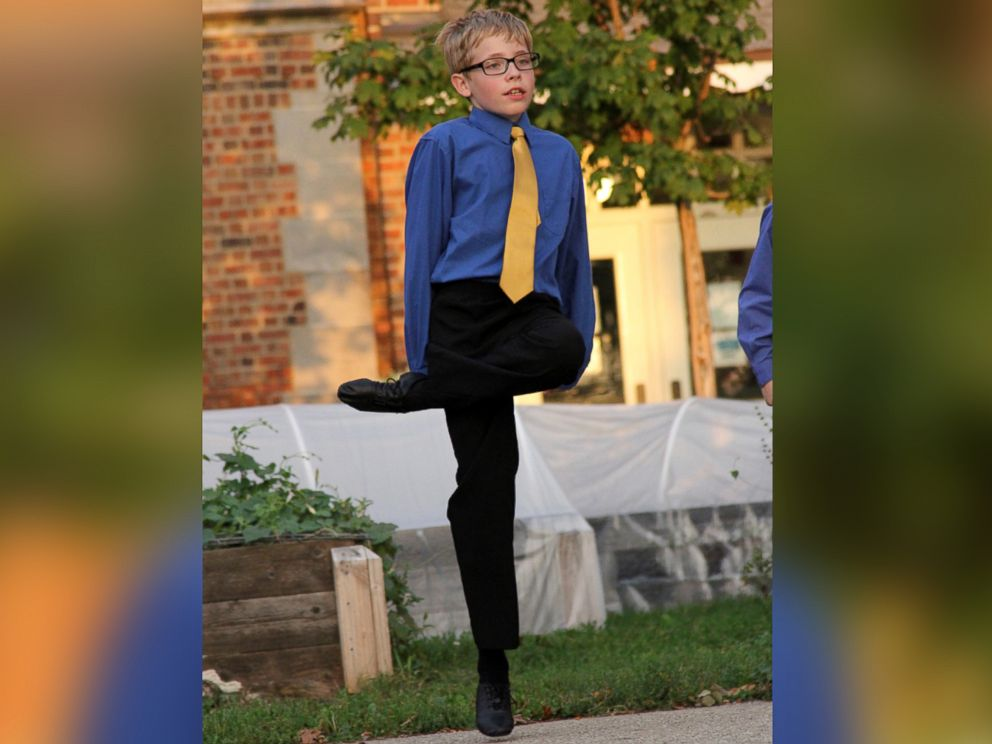 PHOTO: Carl Tubbs, 12, has been taking Irish dance lessons for four years.